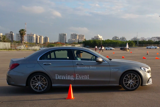 Mercedes Driving Event - לחובב ההגה
