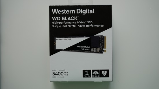 Western Digital - WD Black NVMe SSD