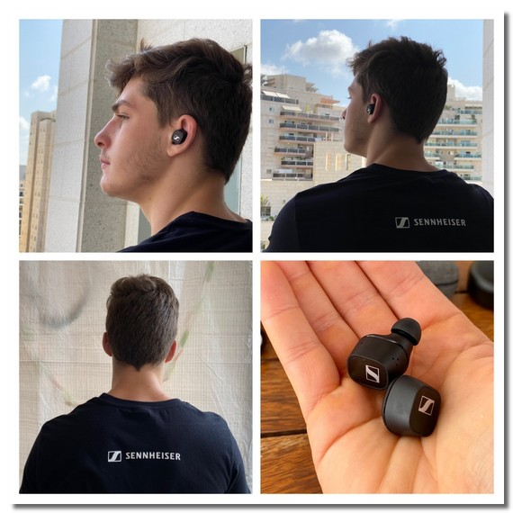 אוזניות TWS מדגם Sennheiser CX 400BT