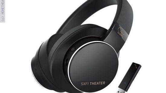 אוזניות לקולנוע ביתי Creative SXFI Theater